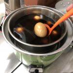 2018/08/14 16:32 台湾で習ってきた茶たまごを作るも、クレーム多く、メニュー化 断念