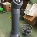 2018/02/06 12:55 第5代目塩ビ管スピーカーがまもなく完成です。