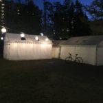 2019/10/04 17:47 私の唯一のお仕事:毎晩、町田児童公園の提灯に電気を灯す