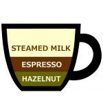 カフェ ヘーゼルナッツ ラテ,Hazelnut Latte,榛果拿鐵,헤이즐넛 라떼