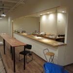 2011/03/05 00:12 カフェアイン店内 オープン1ヵ月切ったところ