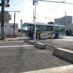 2015/10/13 13:47 カフェアイン 駐車場より JR佐倉駅前交差点を撮影
