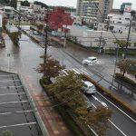 2010/09/16 09:42 空撮 今年もJR佐倉駅前交差点 水浸し あちゃちゃ