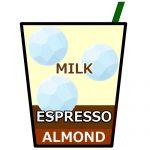 アイス カフェ アーモンド ラテ,Iced Almond Latte,冰杏仁拿鐵,아이스 아몬드라떼