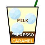 アイス カフェ キャラメル ラテ,Iced Caramel Latte,冰焦糖拿鐵,아이스 카라멜 라떼
